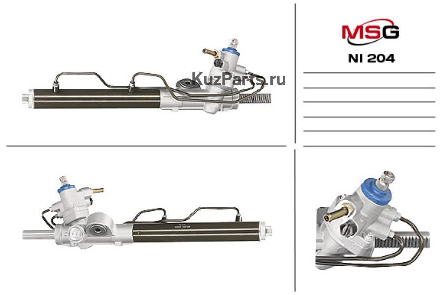 Рулевая рейка с ГУР NISSAN ALMERA II (N16) 00-06,ALMERA II Hatchback (N16) 00-06 MSG NI204