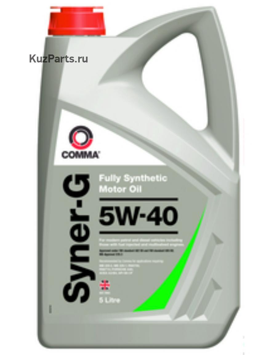 Масло моторное синтетическое Syner-G 5W-40, 20л