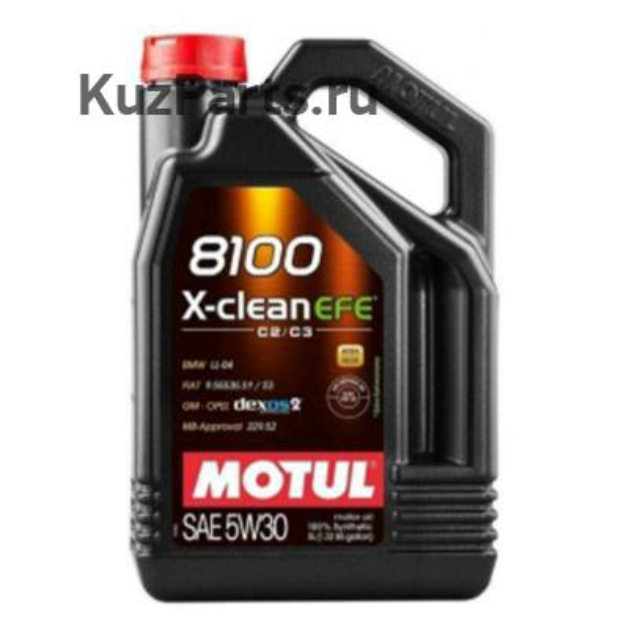 МАСЛО МОТОРНОЕ 5W30 8100 X-CLEAN EFE (5Л) MB 229.5