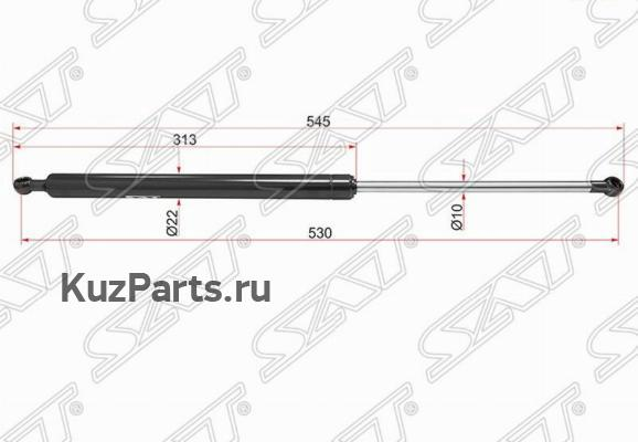 Амортизатор крышки багажника INFINITI FX / QX70 08- RH