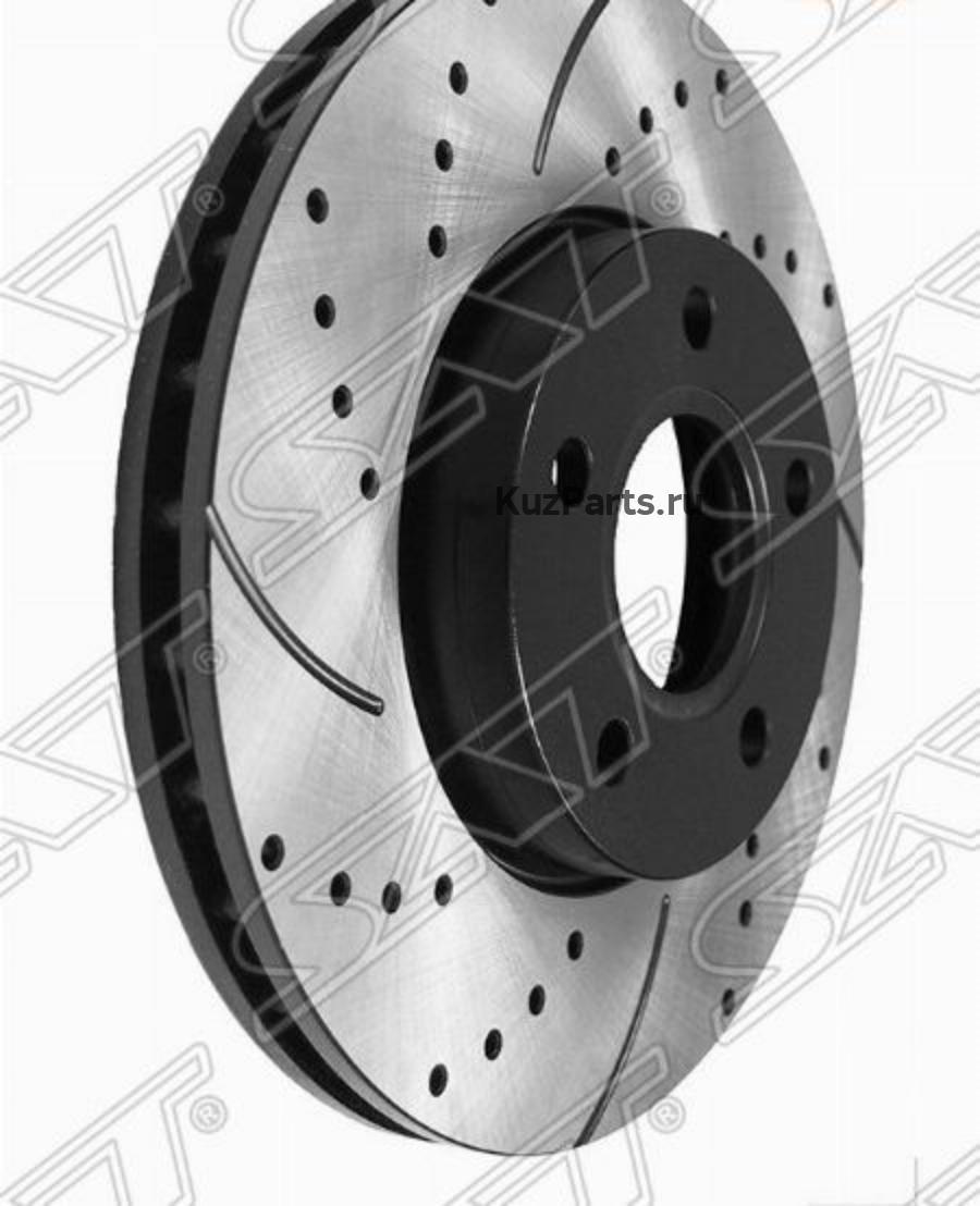 Комплект дисков тормозных передний перфорированные FORD FOCUS III 11