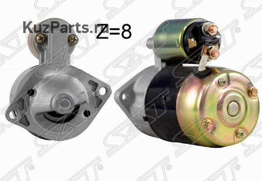 Стартер SUZUKI GRAND VITARA 98-05 G16A / J20A 12V 1.4KW (восстановленный)
