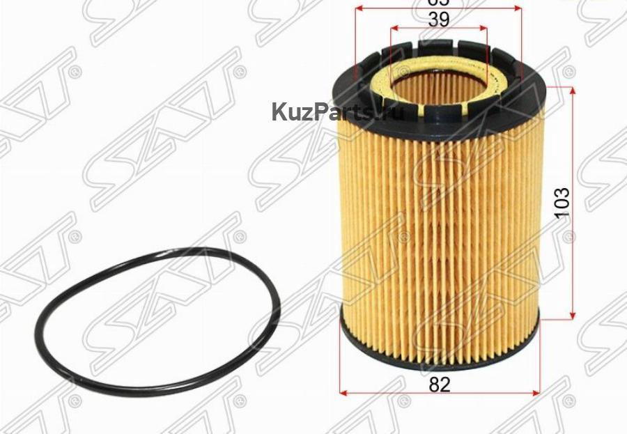 Фильтр масляный (картридж) VW TOUAREG 3.2 / 3.6 03-11 / AUDI Q7 3.6 05-15 / PORSCHE CAYENNE 3.2 / 3.6 02-10