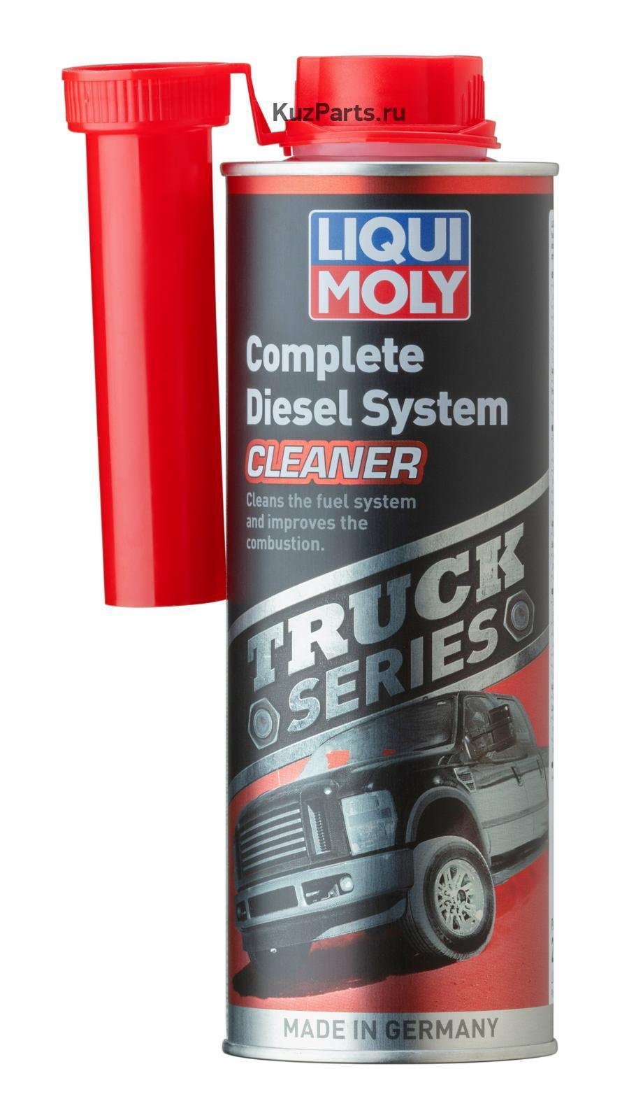 Очиститель дизельных систем тяжелых внедорожников и пикапов Truck Series Complete Diesel System Cleaner 0,5л
