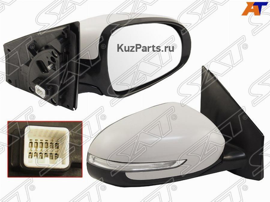 Зеркало регулировка, подогрев, складывание, поворот контактов