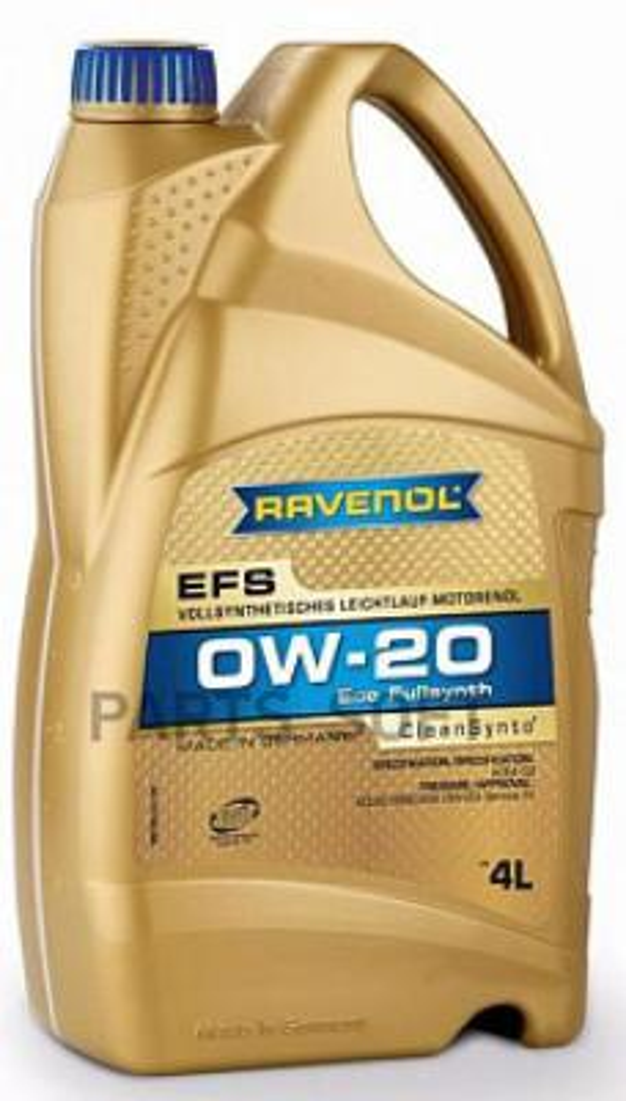 Полностью cинтетическое легкотекучее моторное масло с запатентованной технологией clean-synto для легковых бензиновых и дизельны
