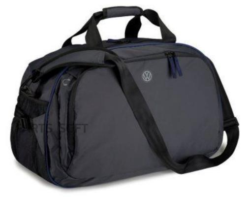 Спортивная сумка Volkswagen Logo Sports Bag Black