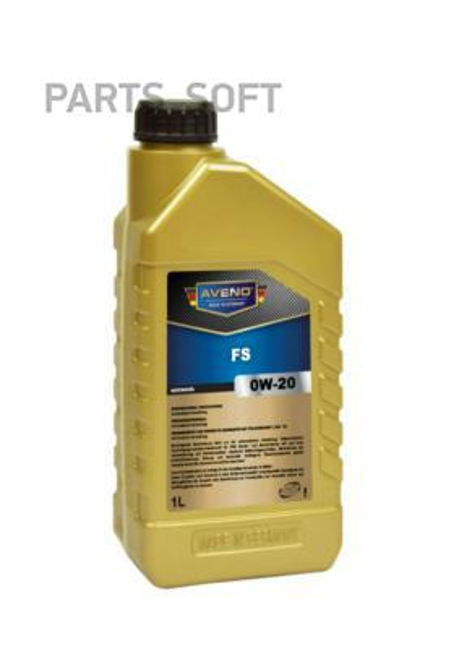 Моторное масло AVENO FS SAE 0W-20 (1л)