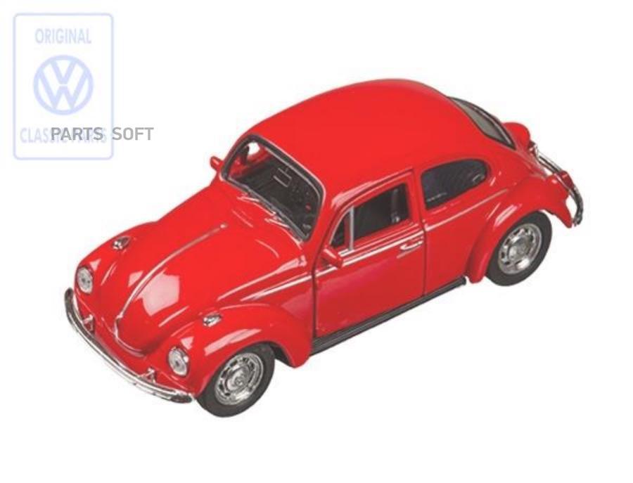 Игрушечный автомобиль Volkswagen Beetle Plastic Toy-Car Red
