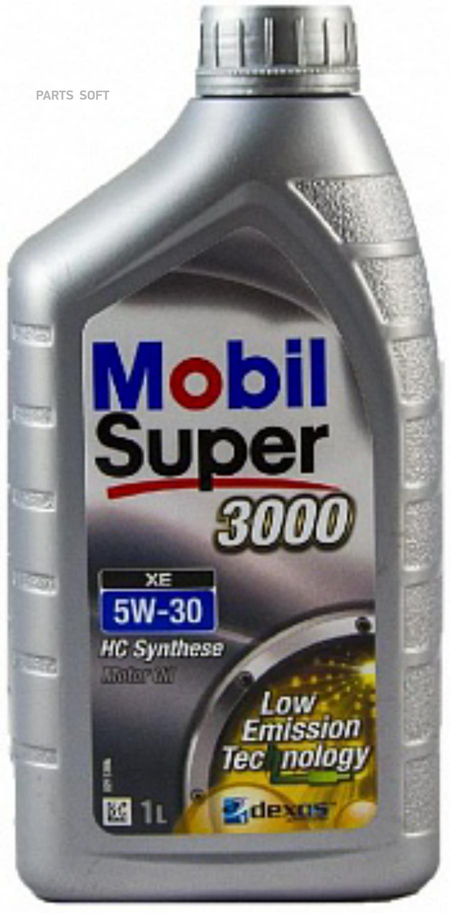 Масло моторное синтетическое Super 3000 XE 5W-30, 1л