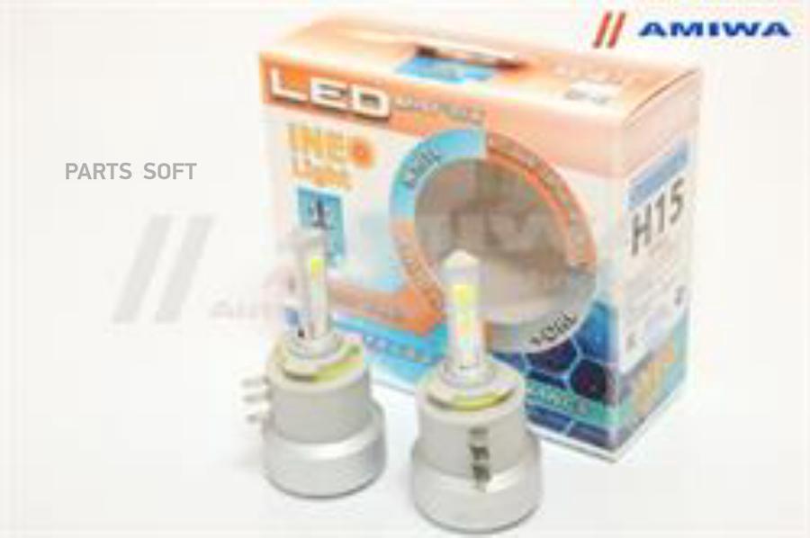 Лампа светодиодная H15 12В 54Вт