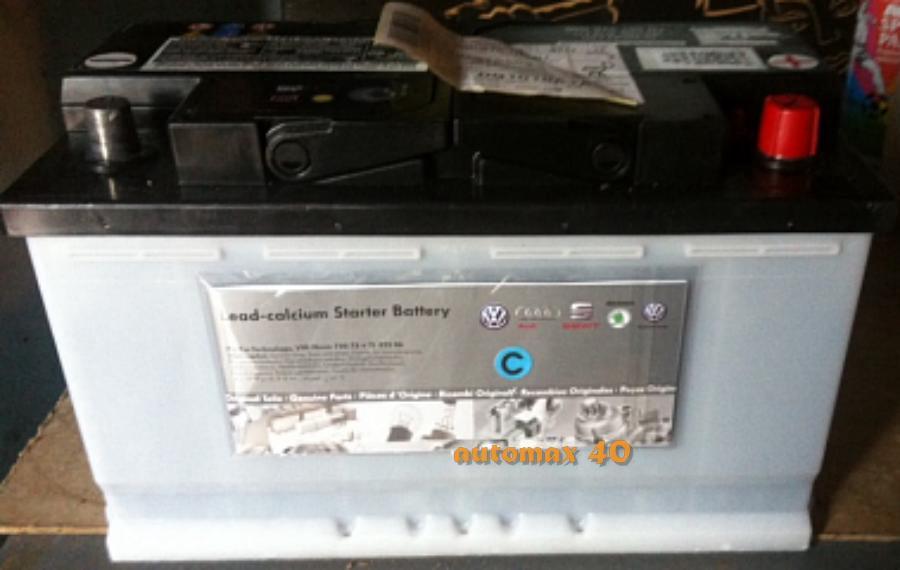 Аккумулятор VAG 000915105DJ