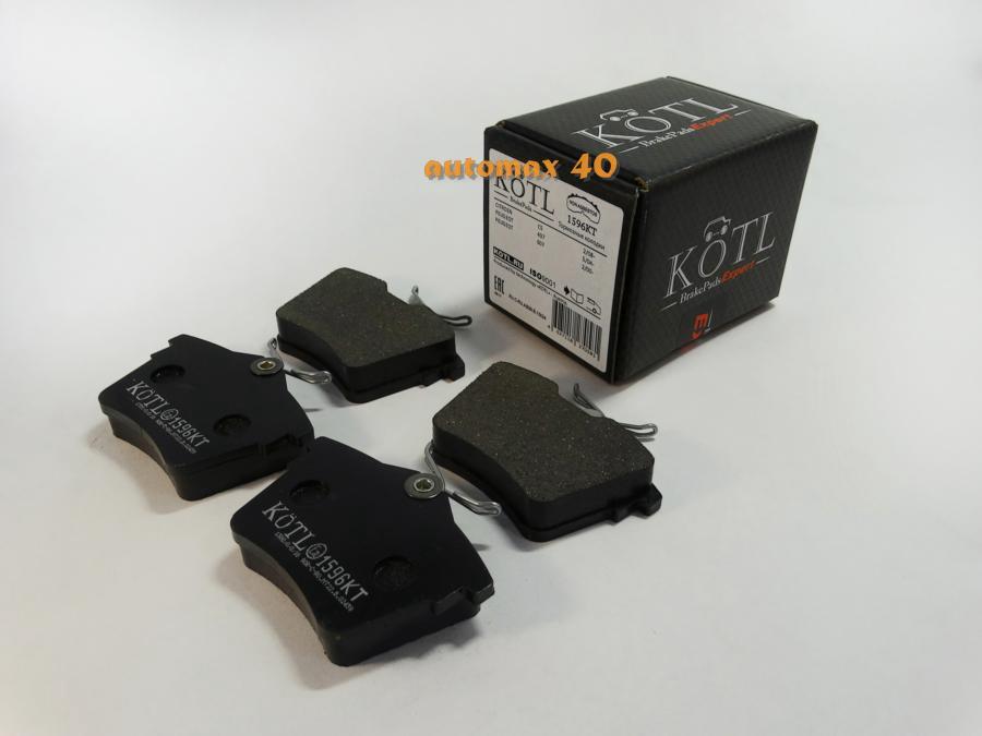 Колодки тормозные задние CITROEN C5, PEUGEOT 407, 607
