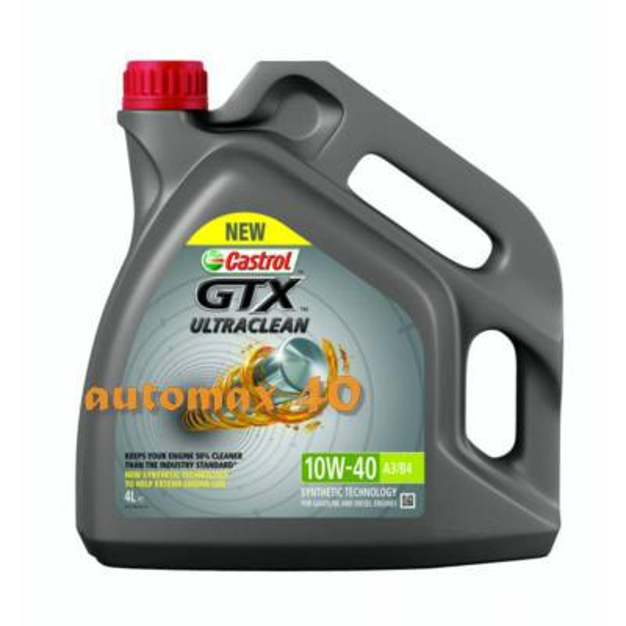 Масло моторное полусинтетическое GTX Ultraclean 10W-40, 4л