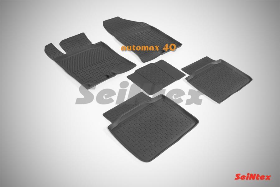 Резиновые коврики с высоким бортом для KIA Optima III 2010-2015 г.в.