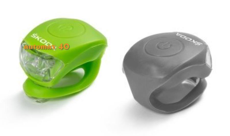 Фонарь велосипедный (набор) Skoda ('0'0'0'05'03'0'0C)