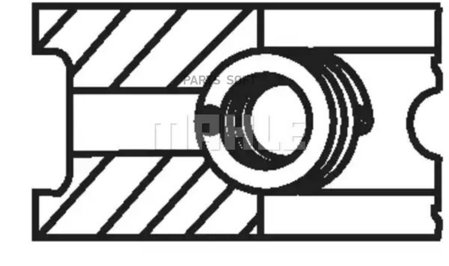 Кольца порш. 76,50+0,50 1 ц.(APE/AXP)