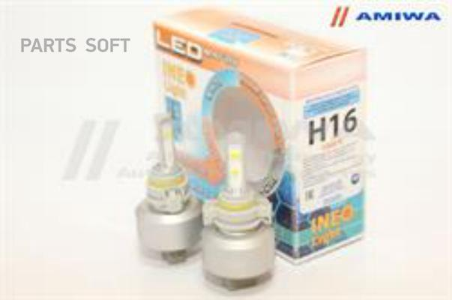 Лампа светодиодная H16 12В 54Вт