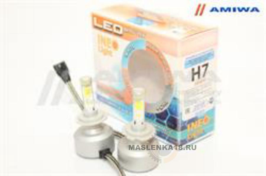 Лампа светодиодная H7 12В 54Вт