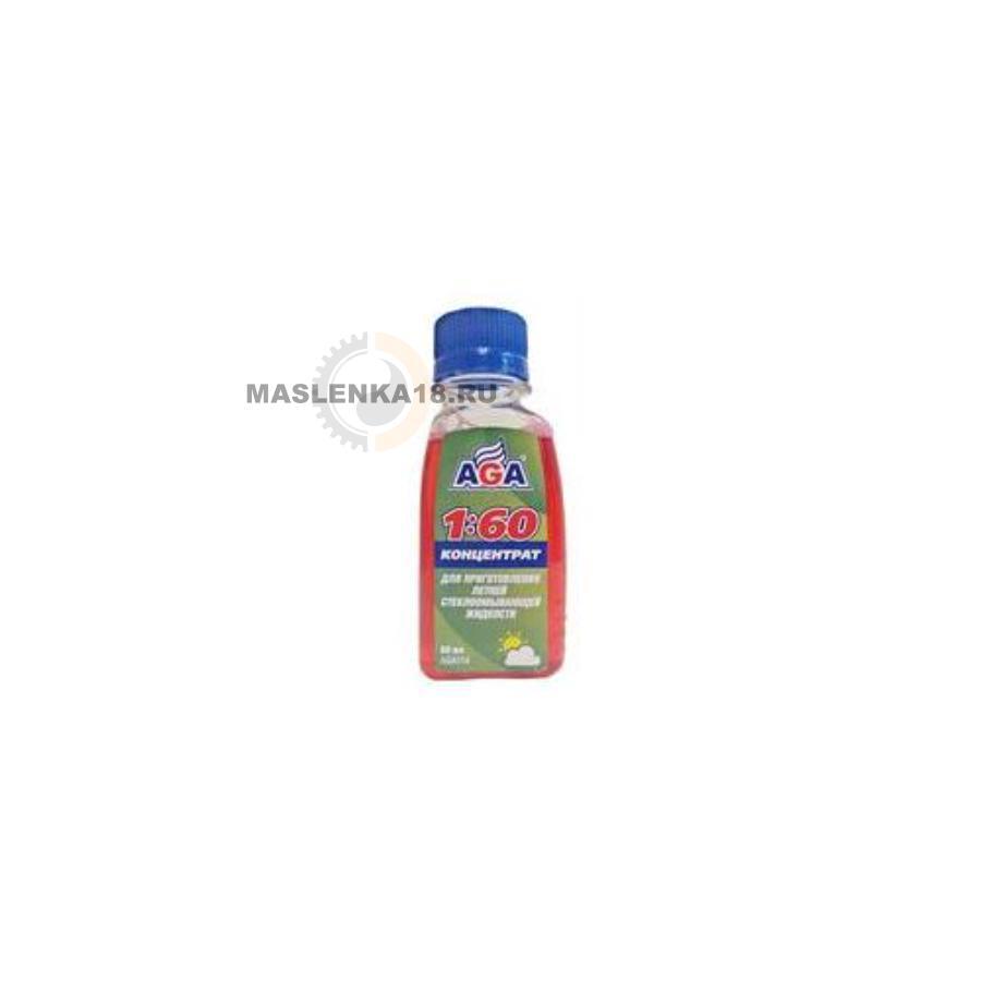 Жидкость омывания стекол, концетрат, летняя, 80мл