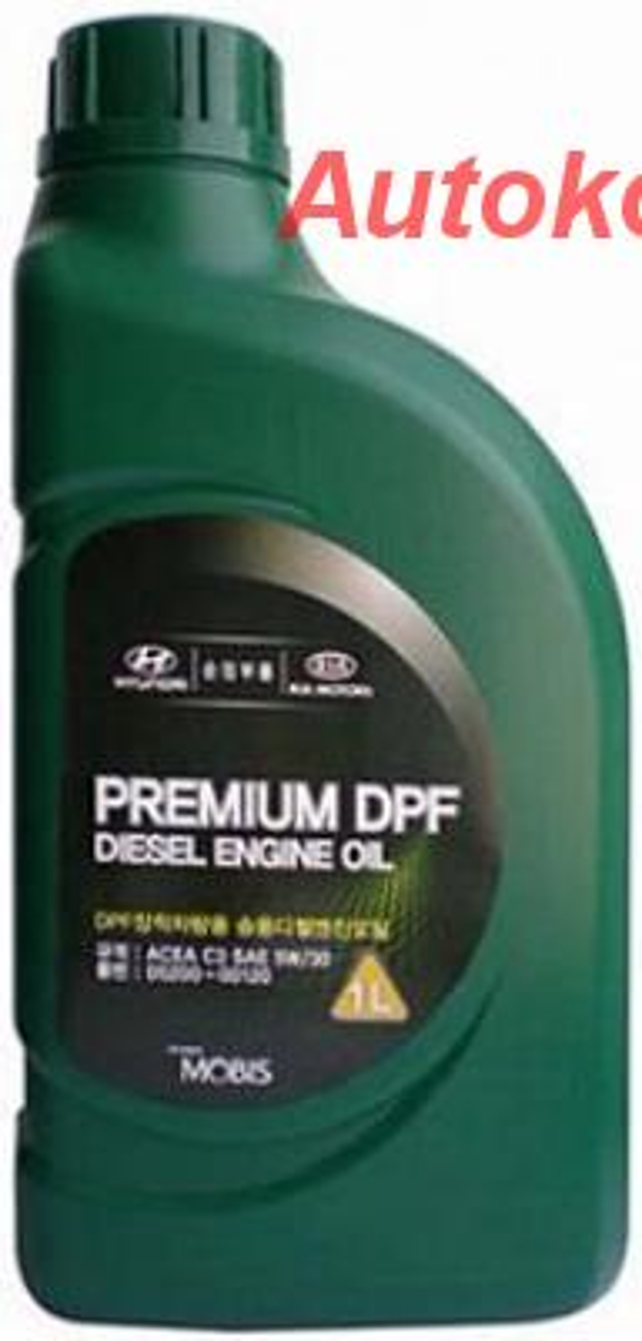 Масло моторное синтетическое Premium DPF Diesel 5W-30, 1л