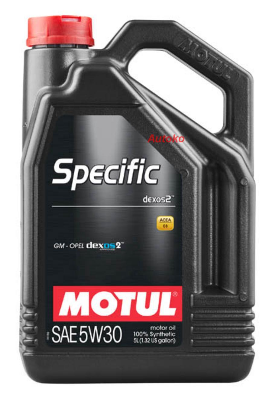 Масло моторное синтетическое Specific Dexos2 5W-30, 5л