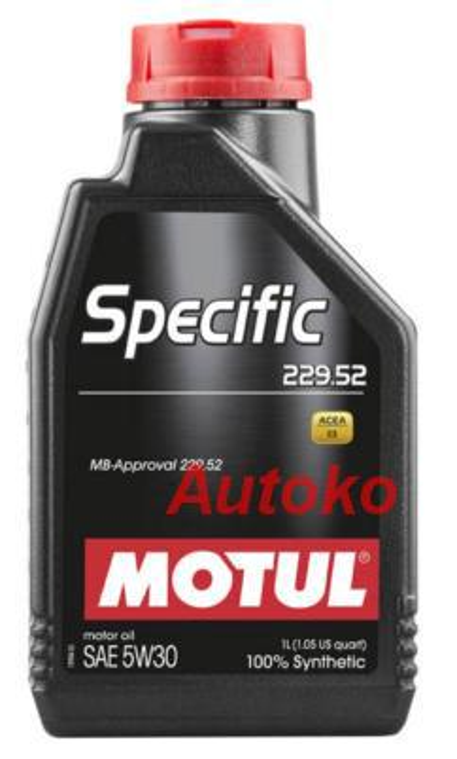 Масло моторное синтетическое Specific MB 229,52 5W-30, 1л