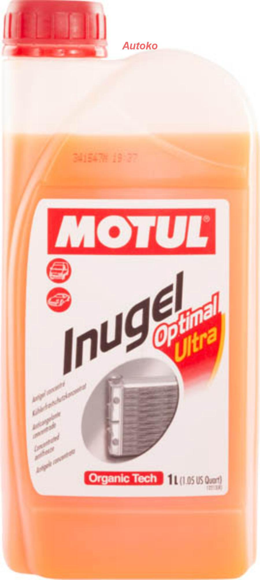 """Антифриз-концентрат """"Inugel Optimal Ultra"""", 1л"""