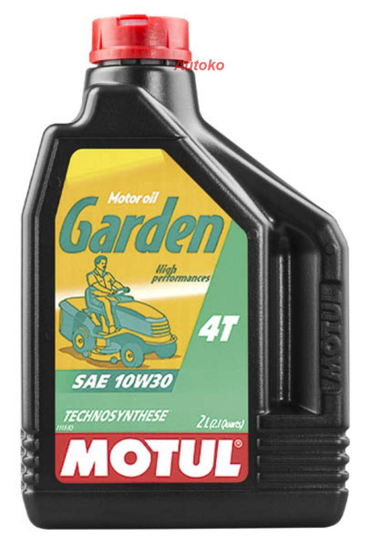 Масло моторное Garden 4T 10W-30, 2л