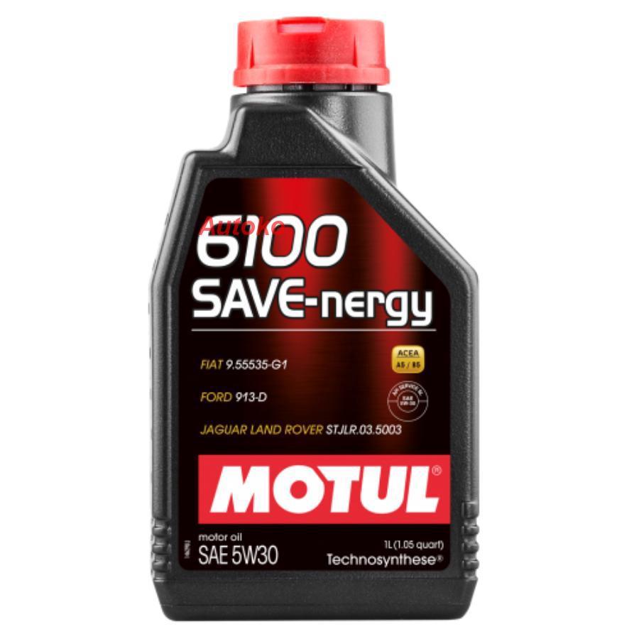 Масло моторное синтетическое 6100 SAVE-NERGY 5W-30, 1л