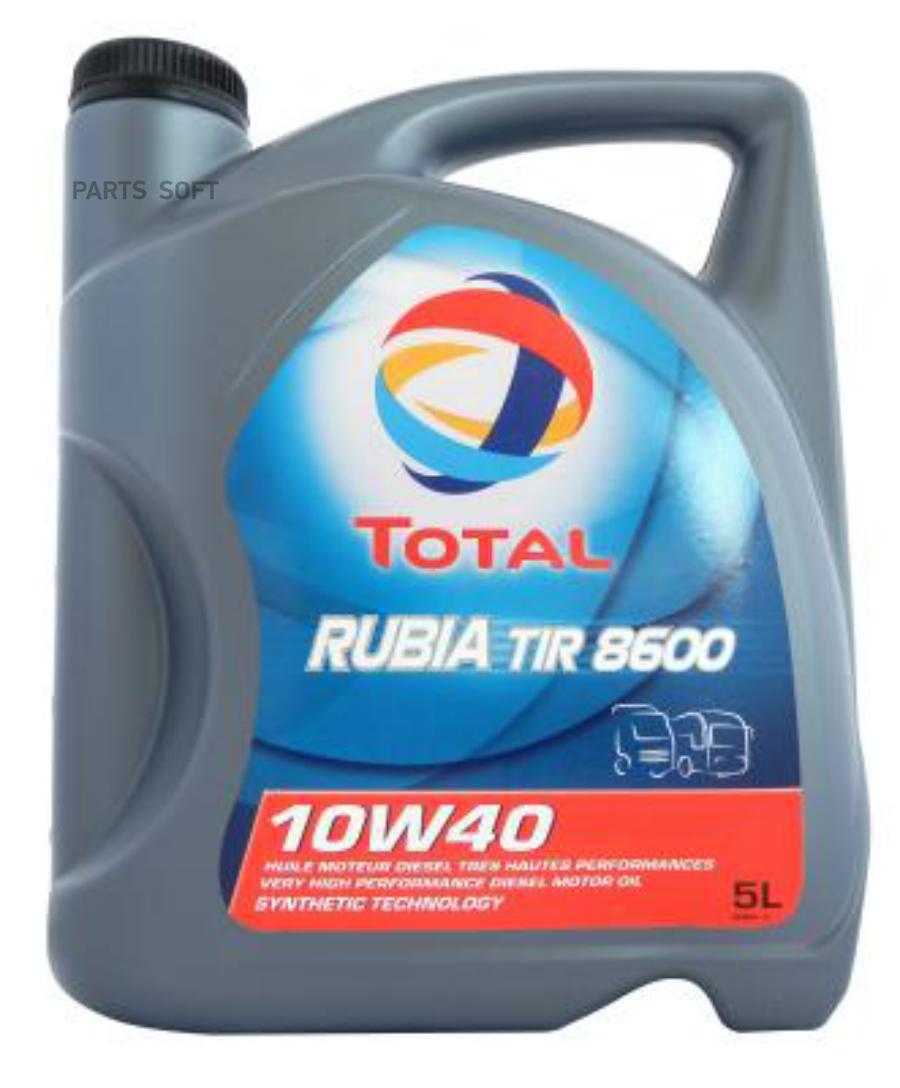 Total Rubia Tir 8600 10W40 .