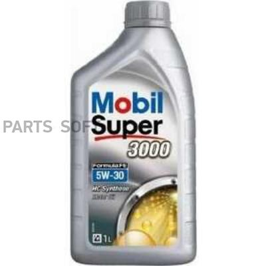 Масло моторное MOBIL SUPER 3000 Formula FE 5W-30 (1 л.) синтетика