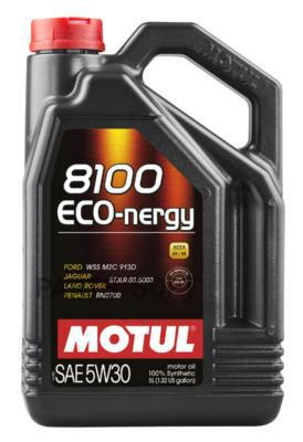 Масло моторное MOTUL 8100 Eco-Nergy 5W-30 (5 л.) синтетика