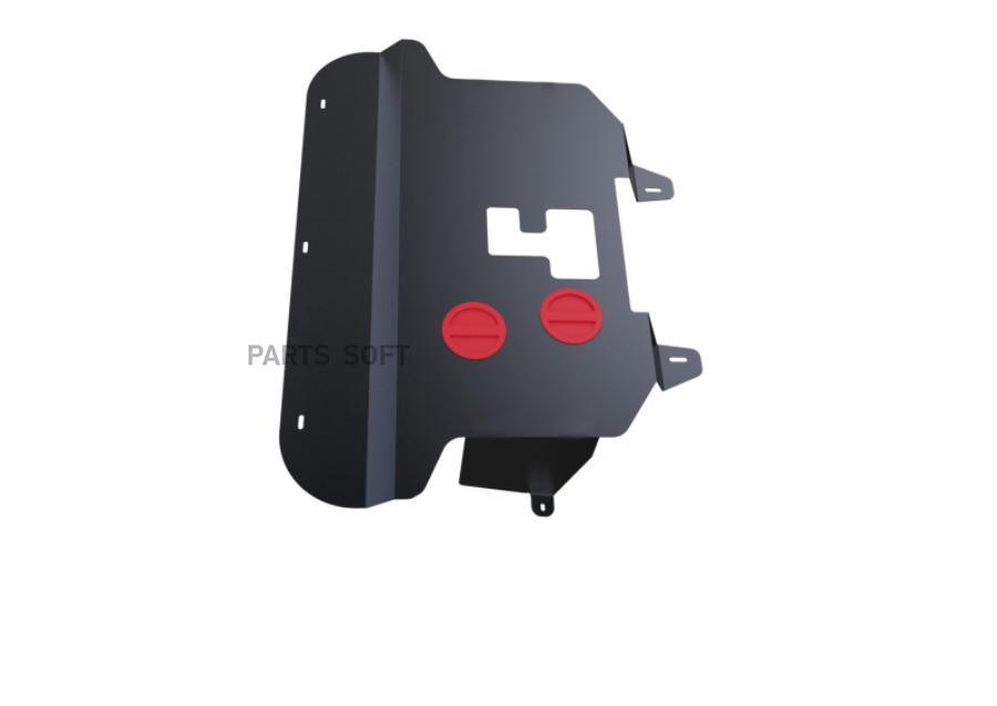 Защита двигателя и КПП Fiat Doblo 1,4L с 2006 г.в.