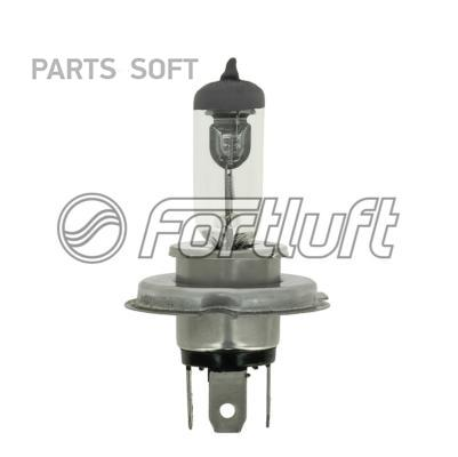 Лампа H4 12V 60/55W P43T FORTLUFT