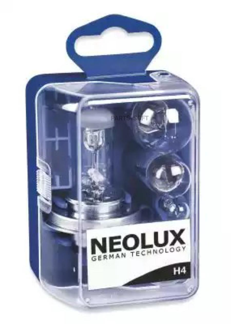 Комплект ламп MINI-BOX-H4 (P21W, P21/5W, R5W, W5W)