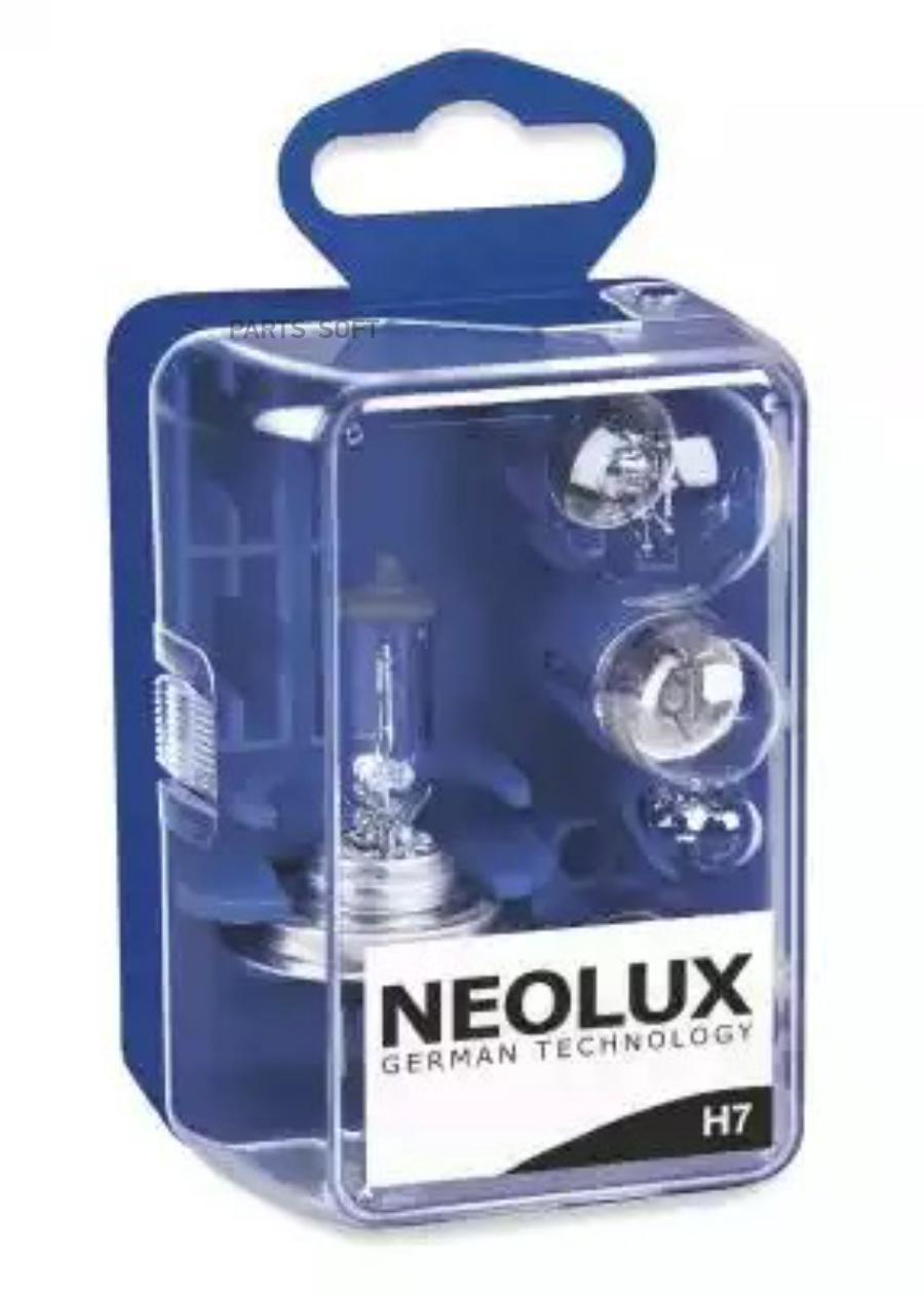 Комплект ламп MINI-BOX-H7 (P21W, P21/ 5W, R5W, W5W)