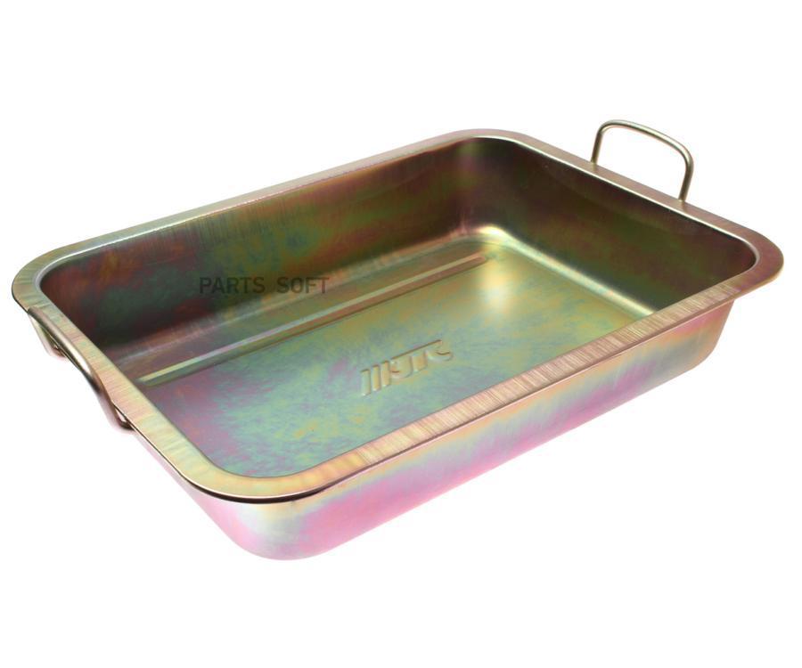 Поддон для слива масла 10л метал (JTC)