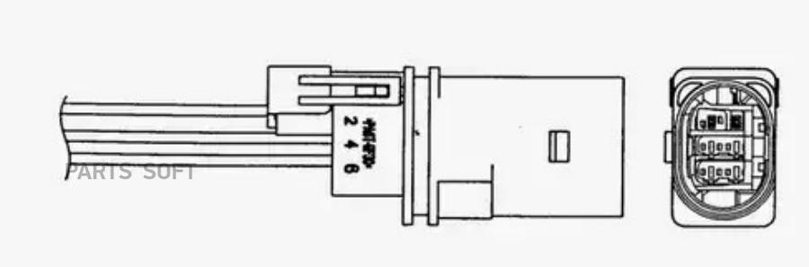 Датчик кислородный LZA07V4