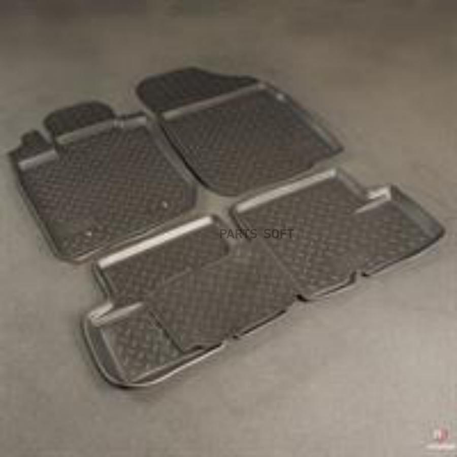 Комплект ковриков Renault Logan (Po)