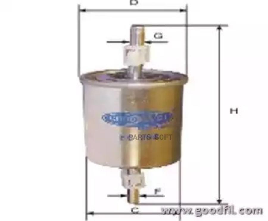 Топливный фильтр с заземлением