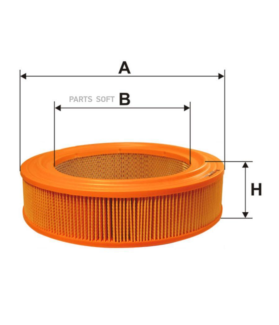 Фильтр воздушный (карбюраторный) ЗМЗ 402 | ГАЗ 3102, 31029, 3302