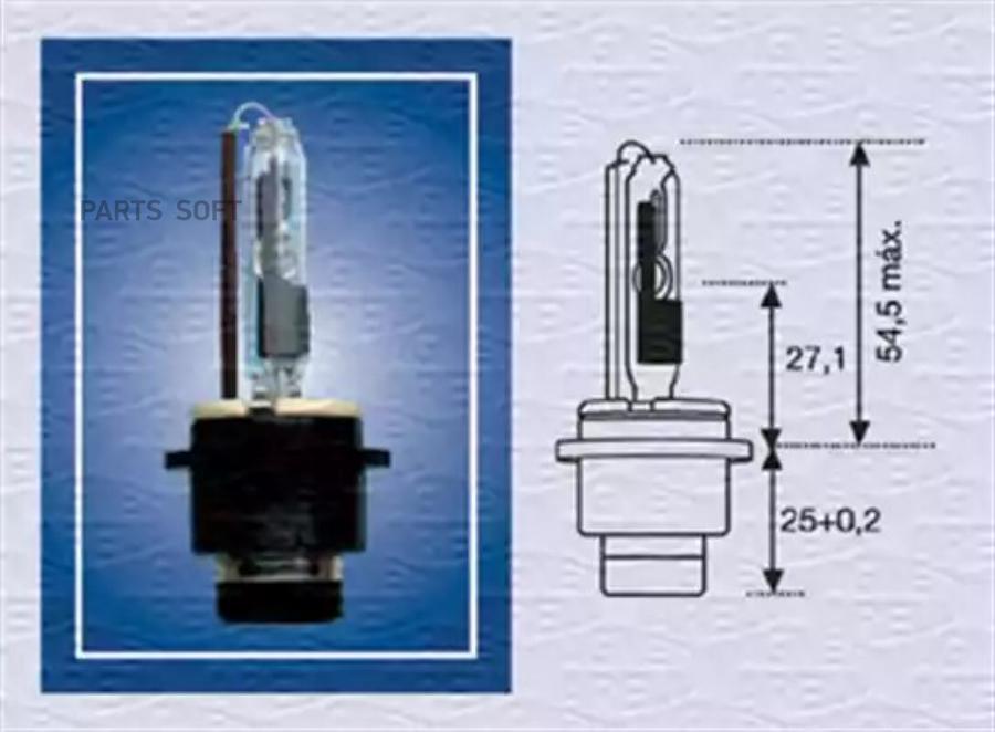 Лампа газоразрядная D2R 85В 35Вт