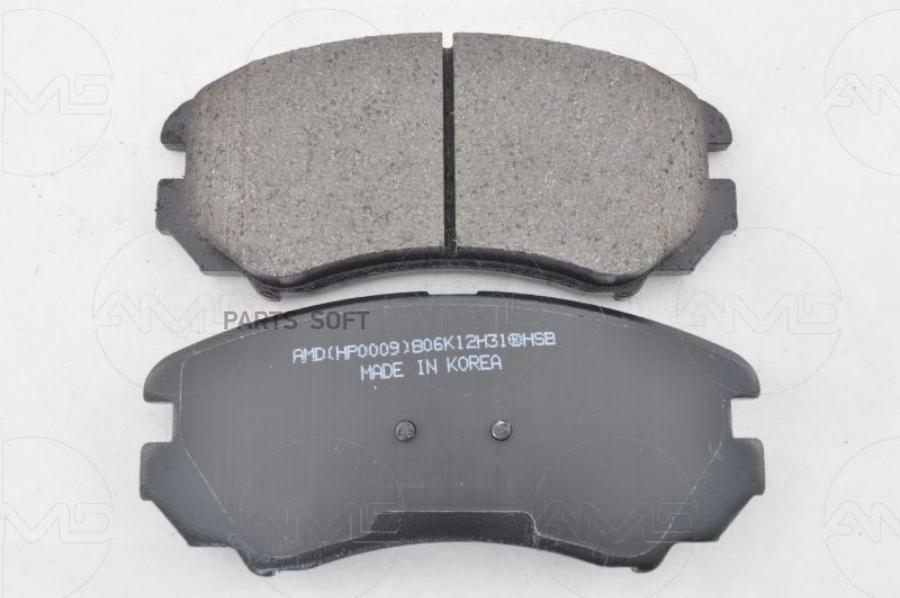 Колодки тормозные передние дисковые