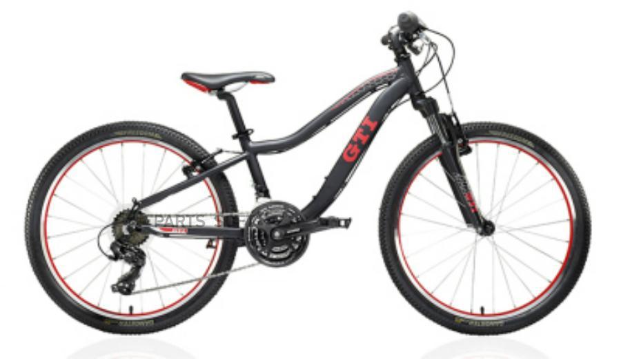 """Горный велосипед, подростковый, (дизайн GTI) 24"""""""