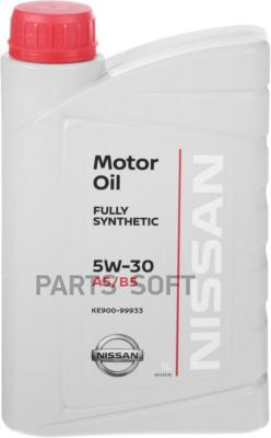 Масло моторное Nissan 5W-30 A5/B5  (1л.)