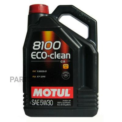 Масло моторное 5W-30 Eco-Clean 8100 C2 (5 л)