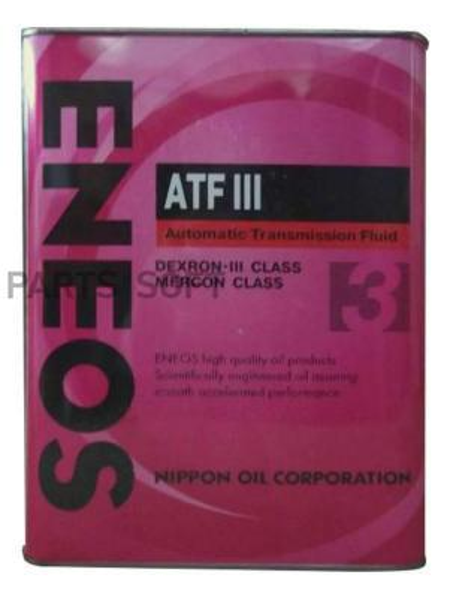 Жидкость АКПП ATF DEXRON-III (4 л.) минеральная