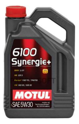 Масло моторное 5W-30 Synergie+ 6100 (4 л.)