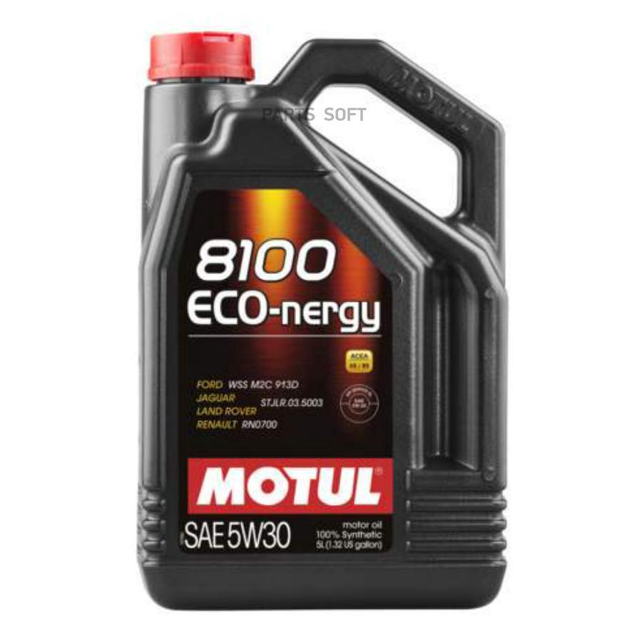 Масло моторное MOTUL 8100 Eco-Nergy 5W-30 (5 л.) синтетика